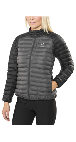 Haglöfs Essens Mimic Jacket Women magnetite/true black